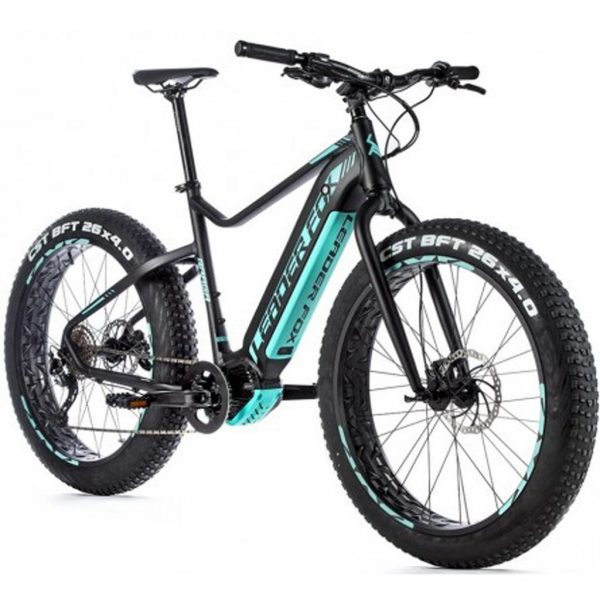fat e-bike leader fox braga 2020 vue 3/4 avant